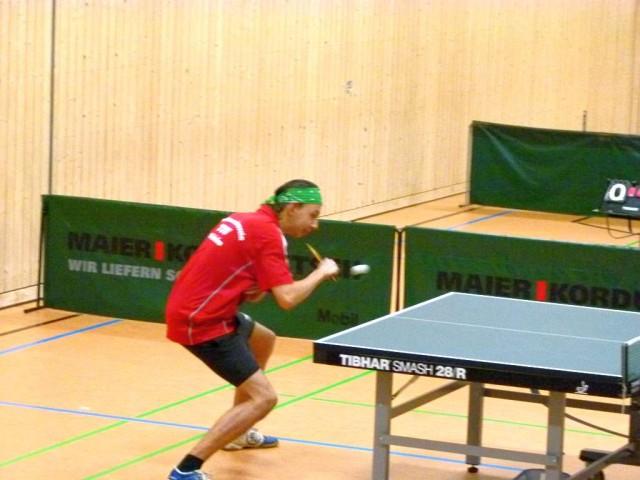 Derzeit in aufsteigender Form: Jonas Vielhuber (Position 4)