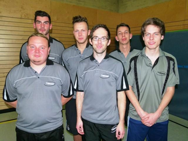 Herren I (Saison 2012/13): (v.l.) Gerhard Praml, Thomas Kovarik, Philipp Bauer (MF), Fabian Grabmeier, Jonas Vielhuber, Dominic Schlaffer