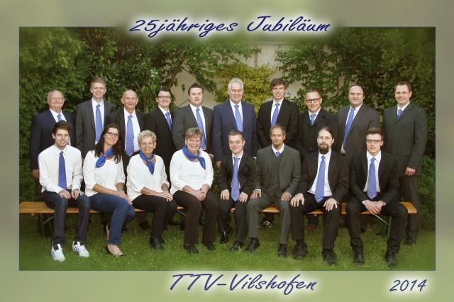 Die Vorstandschaft des TTV Vilshofen e.V. freut sich auf ihre Gäste!