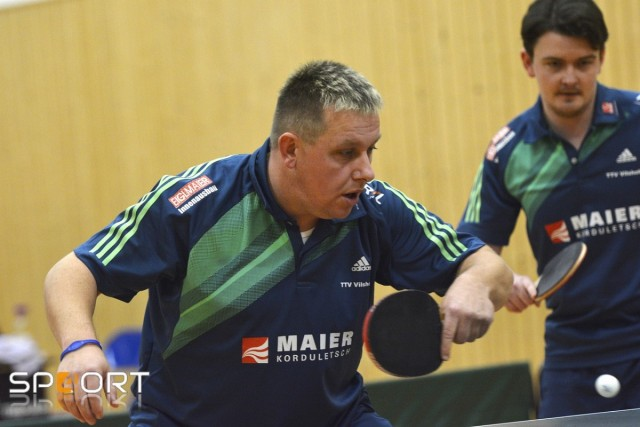Erneut mit zwei Einzelsiegen erfolgreich: Mannschaftsführer Thomas Wiener