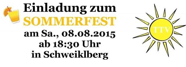 TTV Sommerfest