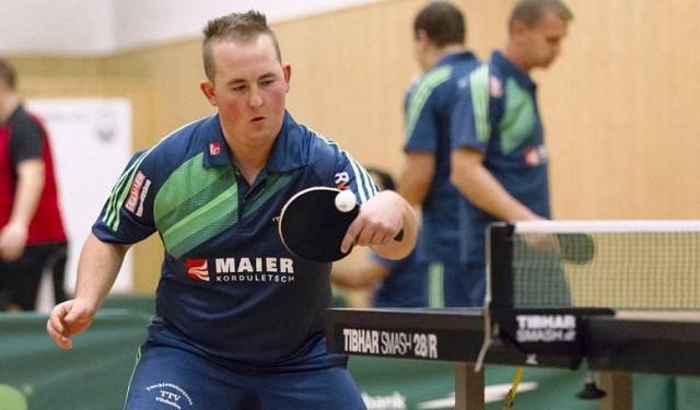 Musste sich bisher erst einmal geschlagen geben: Adrian Winkler Foto: heimatsport.de/Sigl