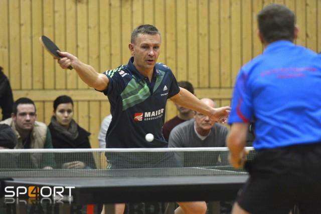 In Doppel und Einzel erfolgreich: TTV-Spielertrainer Radek Drozda